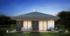 Nízkoenergetický rodinný dům na klíč Country / Zadní pohled