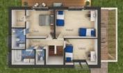 Nízkoenergetický rodinný dům na klíč Family / Půdorys - 1. patra