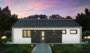 Nízkoenergetický rodinný dům na klíč Orion / Přední pohled