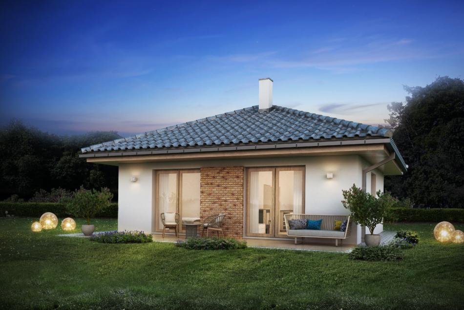 Nízkoenergetický rodinný dům na klíč Casa