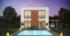 Nízkoenergetický rodinný dům na klíč Symphony / Zadní pohled