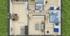 Nízkoenergetický rodinný dům na klíč Grace / Půdorys
