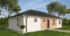 Nízkoenergetický rodinný dům na klíč Astra / Přední pohled
