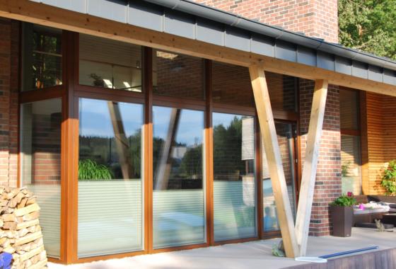 Kvalitní nízkoenergetická okna a dveře