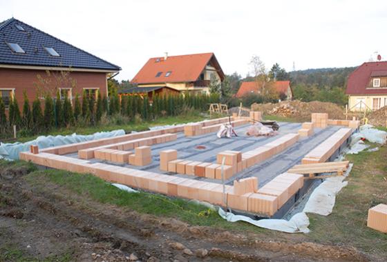 Stavební povolení a zahájení stavby