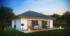 Nízkoenergetický rodinný dům na klíč Haven / Zadní pohled