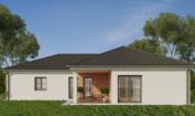 Nízkoenergetický rodinný dům na klíč Gala / Zadní pohled