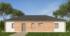 Nízkoenergetický rodinný dům na klíč Gala / Přední pohled